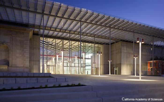 California Academy of Science entrance, San Francisco