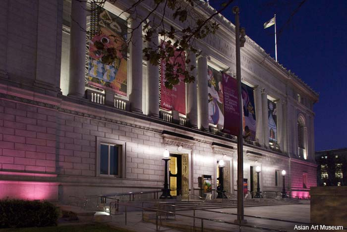 Asian Art Museum entrance, San Francisco