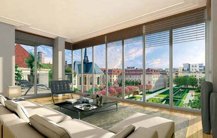 The historic residences combine timeless elegance with a coveted address