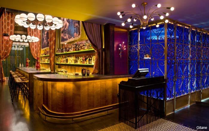 Bar at Gitane, San Francisco
