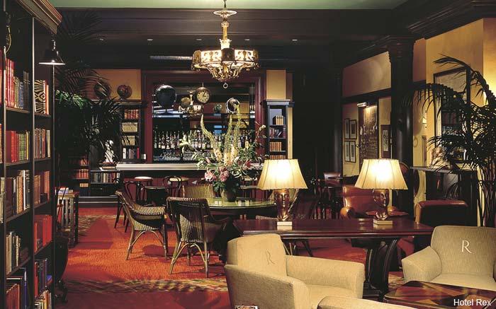 Hotel Rex lobby, San Francisco