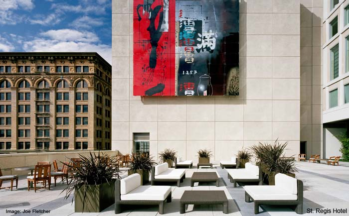 Terrace St Regis Hotel San Francisco