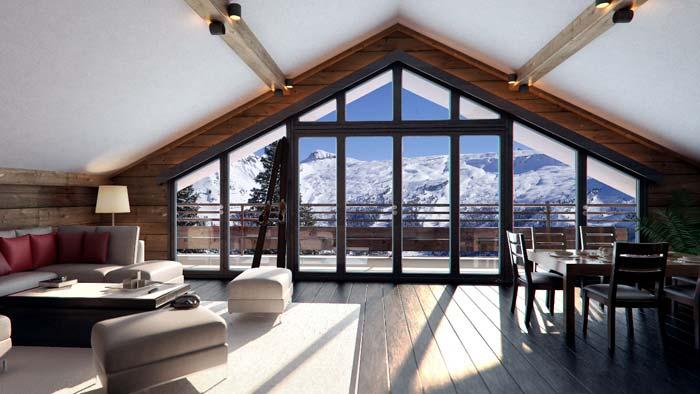 Ski apartment in Flaine (2)
