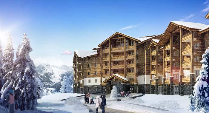 Ski apartment in Flaine (1)