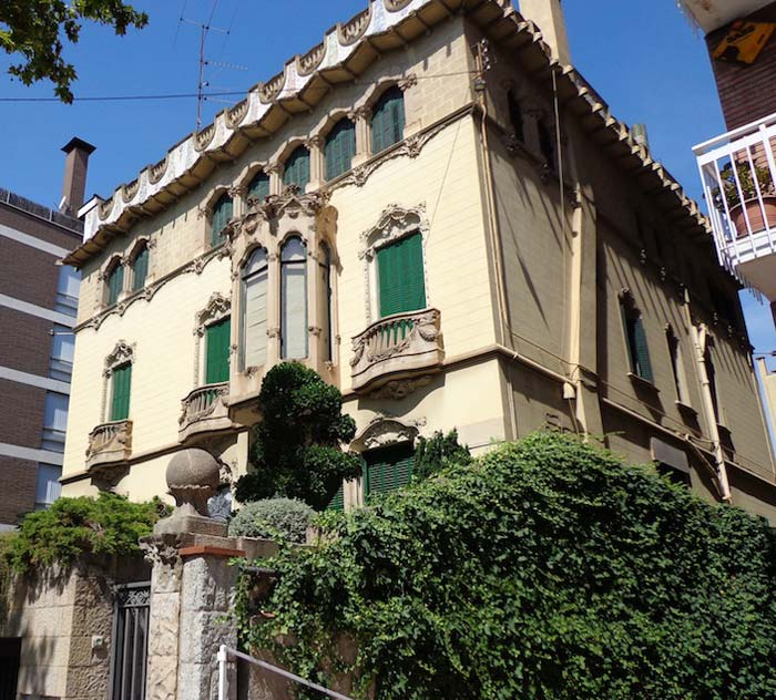 Modernista style villa in Barcelona