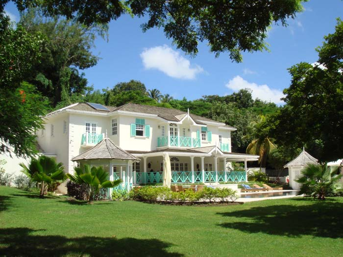 Luxury villa garden