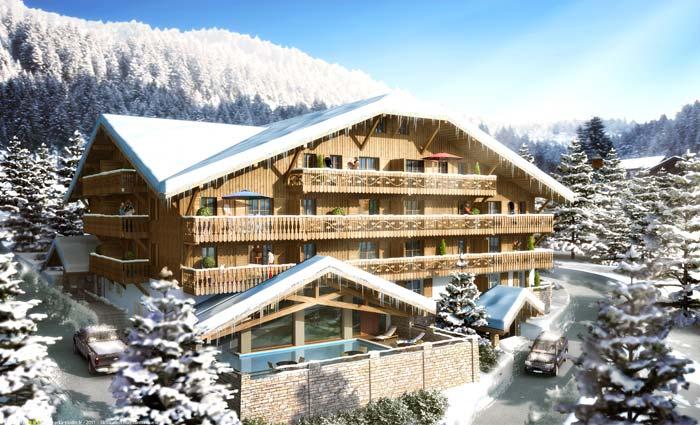 ski apartments in French Alps (2)