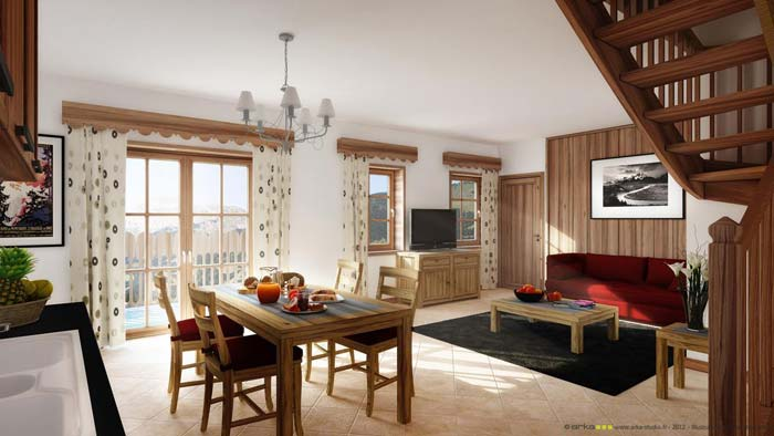 Luxurious French Leaseback Ski Apartments for Sale
