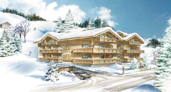 Apartment in Les Gets, French Alps (4)