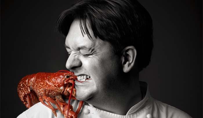 William Drabble, head chef Seven Park Place, London, UK