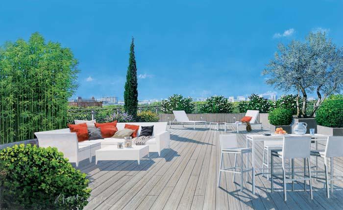 New build apartments in Montmartre Paris (1)