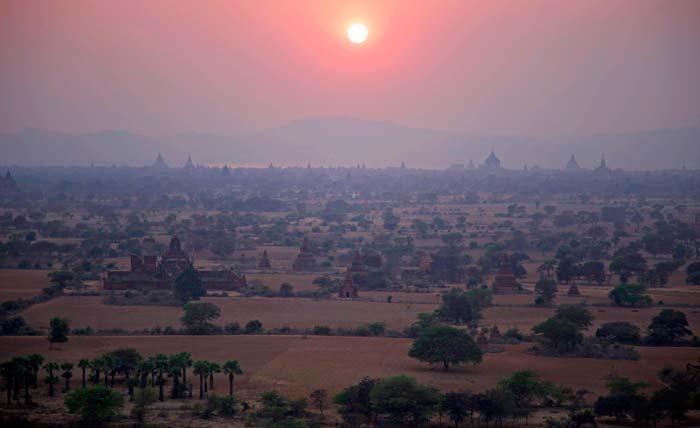 Bagan Pagodas Myanmar