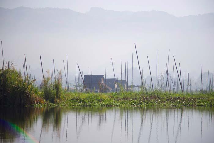 Fishing village Myanmar