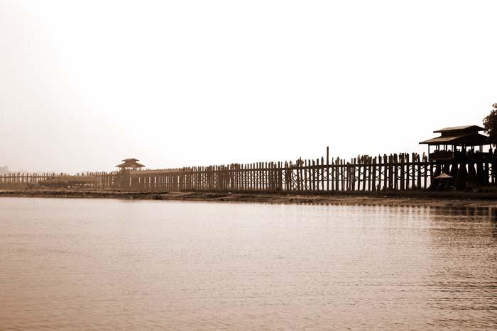 Mandalay Bridge Myanmar