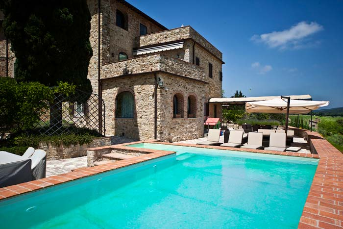 Luxury apartment in Chianti Tuscany (3)