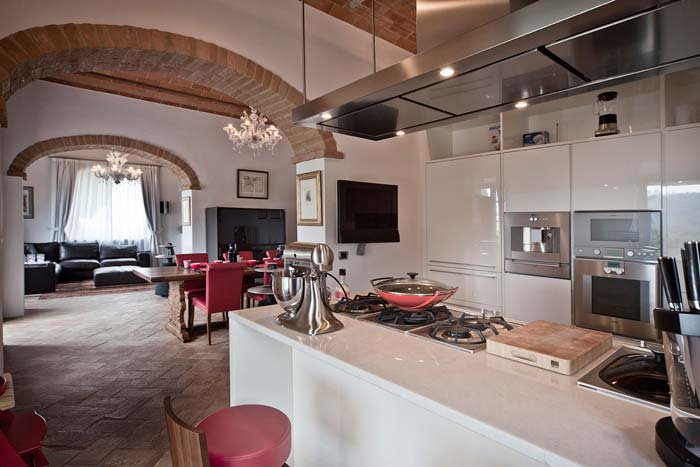 Luxury apartment in Chianti Tuscany (7)