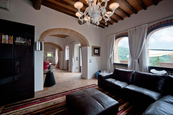 Luxury apartment in Chianti Tuscany (2)