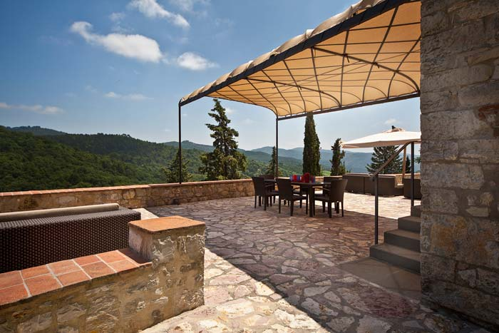 Luxury apartment in Chianti Tuscany (14)