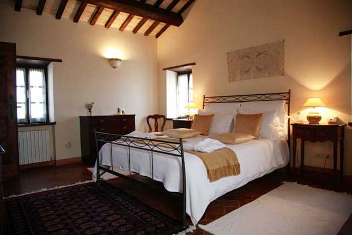 Bedroom 2 Country estate in Le Marche Italy