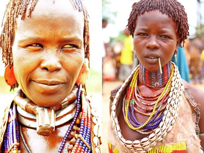 Hamer tribe women Ethiopia