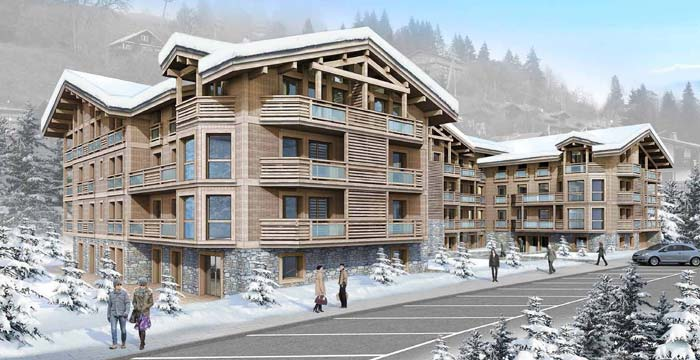 New luxury ski apartments
