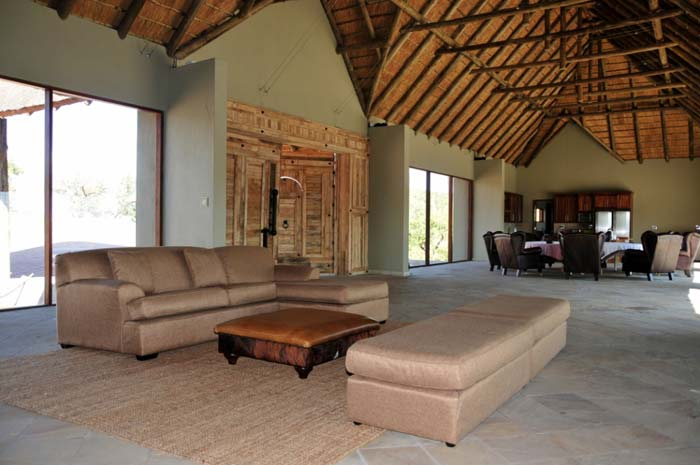 Interior - Private game lodge in South Africa