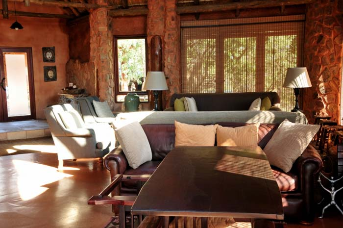 Interior Private game lodge in South Africa 5