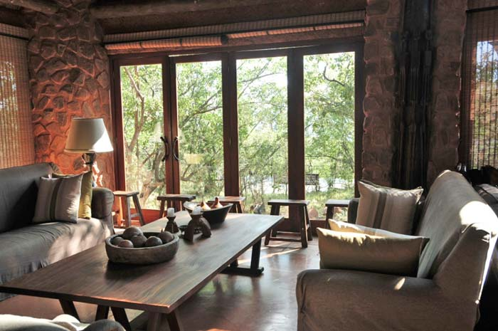 Interior Private game lodge in South Africa 4