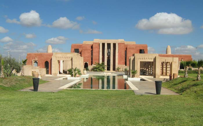exclusive villa in Marrakech