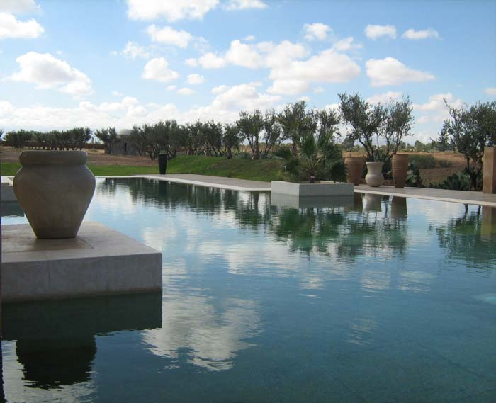 Pool villa in Marrakech