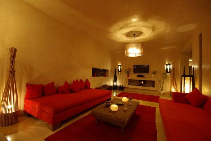 Living room Marrakech villa