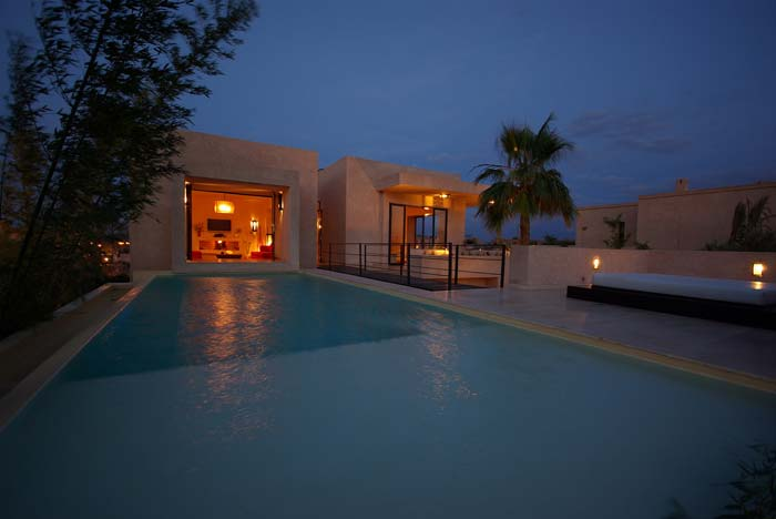Villa pool marrakech
