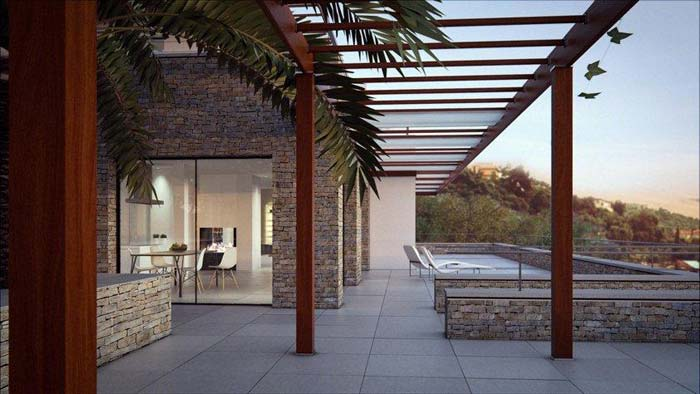 Modern villa in Mont Boron, Nice (6)