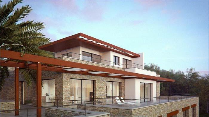 Modern villa in Mont Boron, Nice (4)