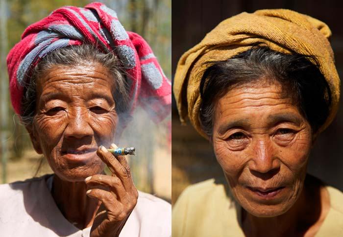 Old women Myanmar