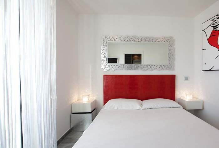 Bedroom Penthouse in Rome