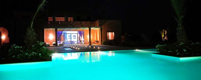 villa pool Marrakech Morrocco