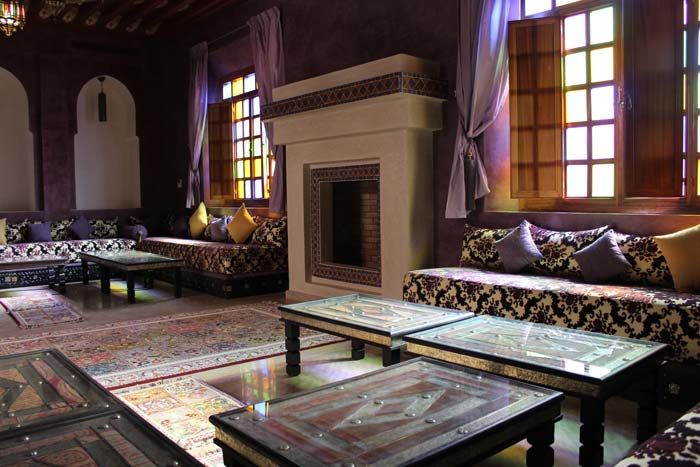 Formal reception room Marrakech Villa