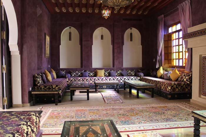 Sitting room Marrakech