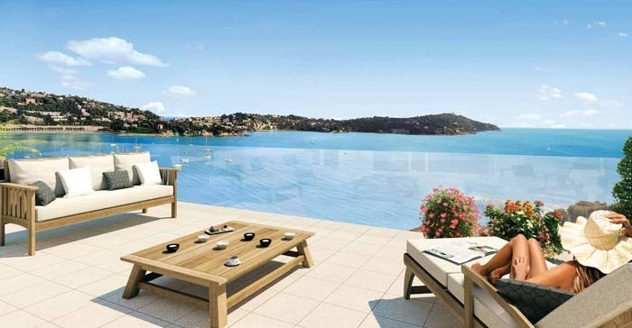 new luxury apartments in Villefranche sur mer on the French Riviera (4)