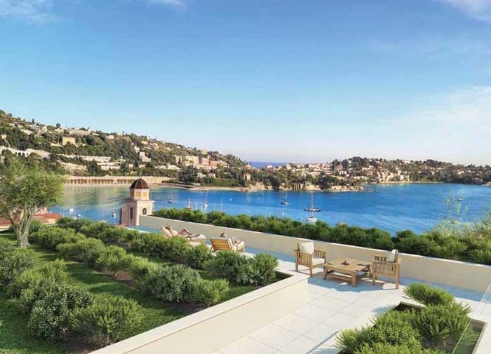 new luxury apartments in Villefranche sur mer on the French Riviera (2)