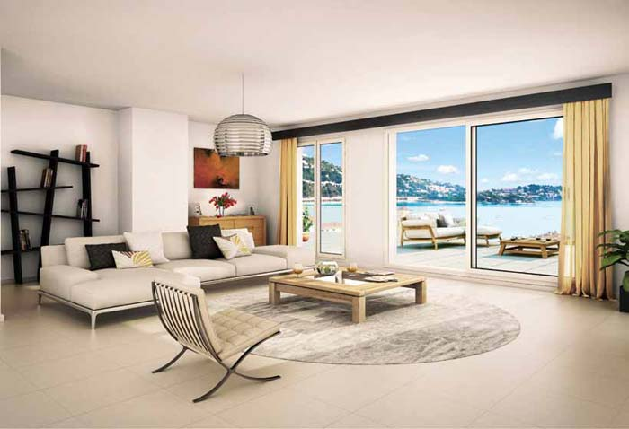 new luxury apartments in Villefranche sur mer on the French Riviera (1)