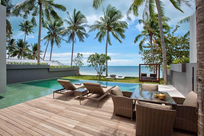 Beachfront villa in Koh Samui, Thailand