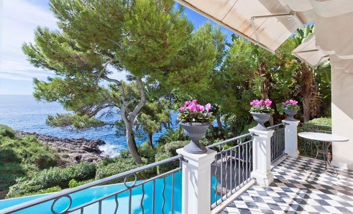 Exclusive villa Cap d'Ail French Riviera