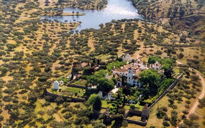 hacienda in andalusia spain