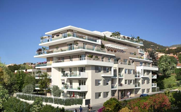 Penthouse apartment Roquebrune