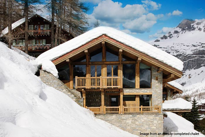 exclusive ski chalet for sale in val d isere alps