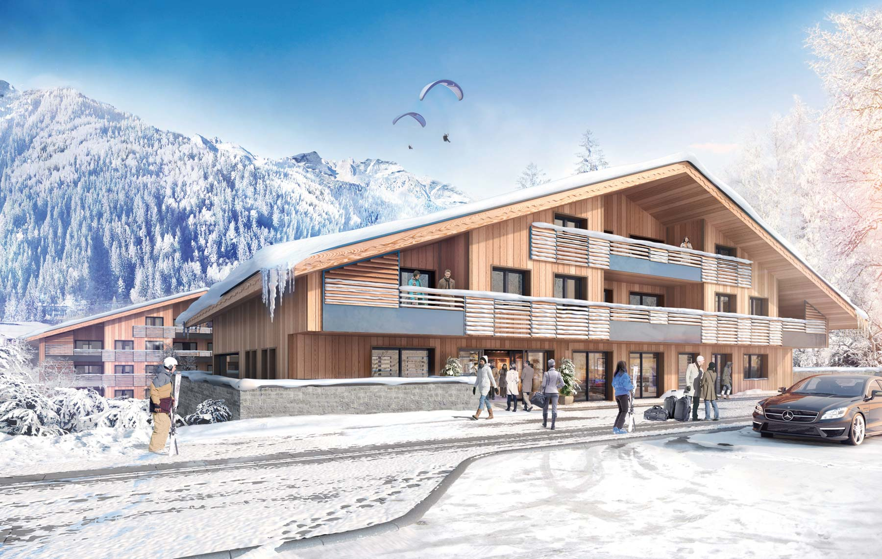 Ski Apartments in Chamonix for Sale French Alps