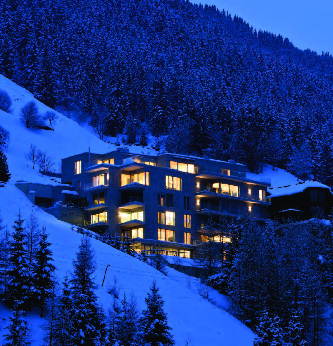 Modern Luxury Ski Apartments Silvretta Arena Austria for Sale