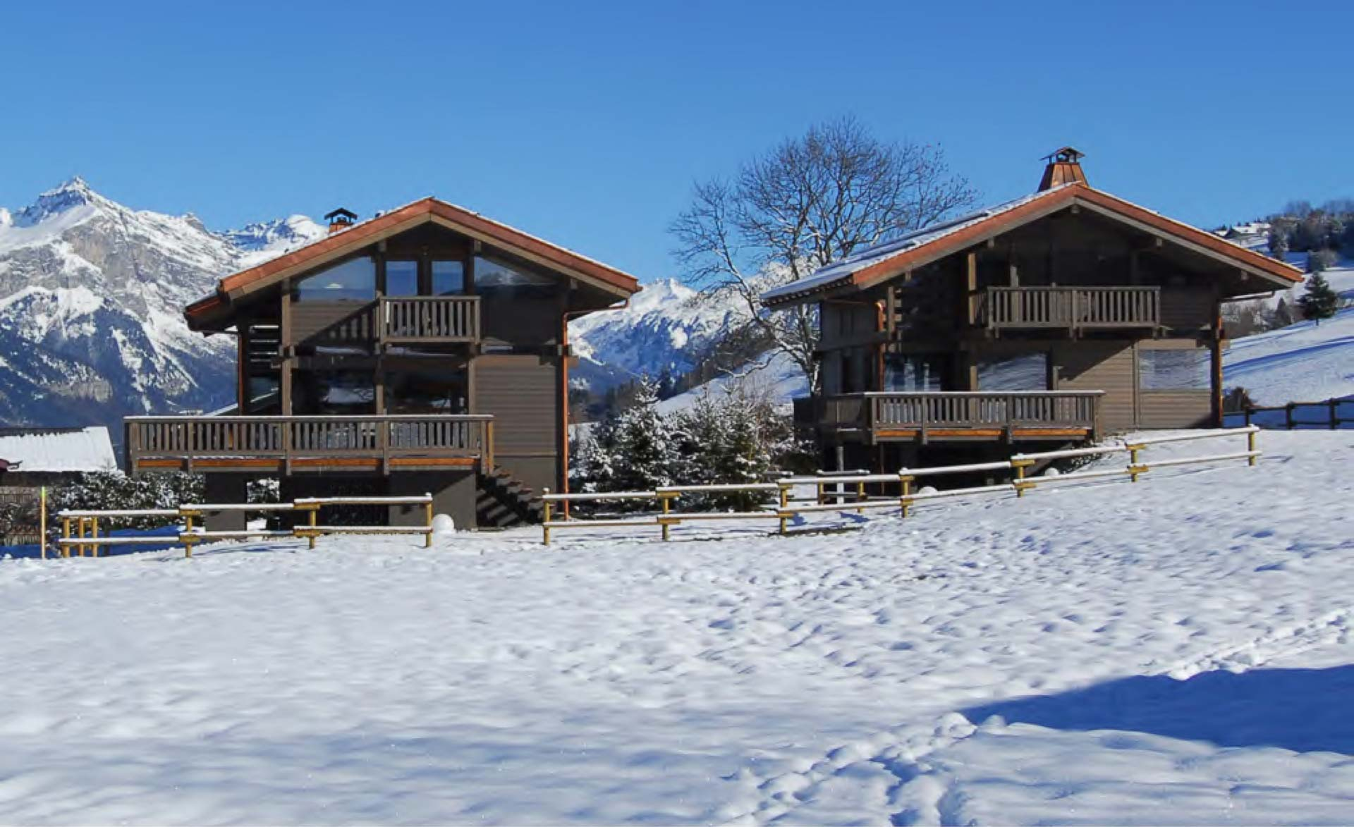Chalet in megeve for Luxury french real estate